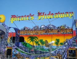 Casino Pier Pirates Hideaway Rides in Seaside Heights NJ