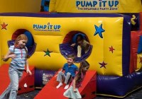 Pump itUp Piscataway central nj indoor kids play places