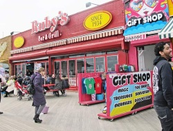 Rubys Bar and Grill Coney Island NY Boardwalk Bars