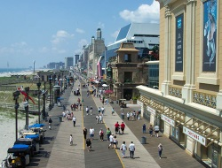 Shopping on the Atlantic City NJ Boardwalk