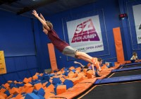 Sky Zone of Ocean Township unique party places in nj