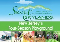 Sussex Skylands unique womens day trip ideas in Northern NJ