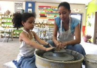 The Clay pot is a creative kids activity idea in NJ