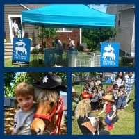 The Friendly Farmyard traveling pony and petting zoo parties in Central New Jersey
