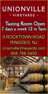 Unionville Vineyards Wineries in Hunterdon County NJ