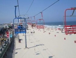 Skyride at Casino Pier in Seaside Heights NJ