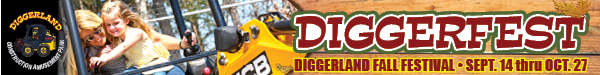 Diggerland Theme Parties in Southern NJ