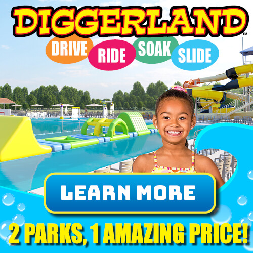 Diggerland Theme Parties in New Jersey