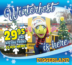Diggerland Best Party Places in West Berlin NJ