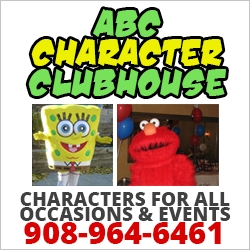 ABC Character Clubhouse Costume Characters NJ