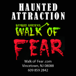 Bamboo Gardens Walk of Fear Halloween Attraction in NJ