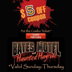 Bates Motel Halloween Attractions in NJ