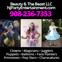 Beauty and the Beast Party Entertainers in New Jersey