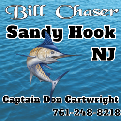 Bill Chaser Charter Boat Rentals in NJ