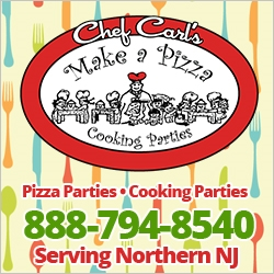Chef Carl's Make a Pizza Party Kids Day Trips NJ