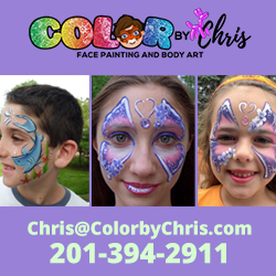 Color by Chris Face Painters in NJ