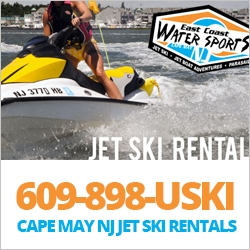 East Coast Jet Ski Shore Town Getaways Southern NJ