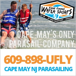 East Coast Parasail Romantic Getaways in NJ