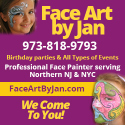 Face Art by Jan Top Party Entertainers NJ