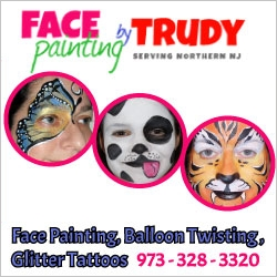 Face Painting by Trudy in New Jersey
