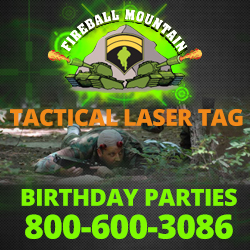 Fireball Mountain Laser Tag Paintballing in NJ