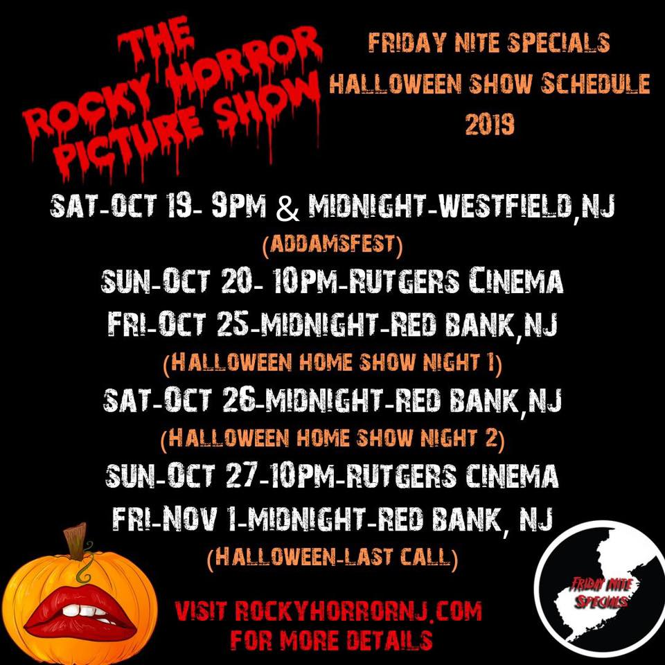 Friday Nite Specials Rocky Horror Picture Show Arts and Culture in NJ