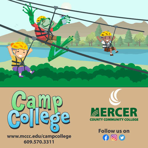 Camp College Summer Camp for Kids Mercer County NJ