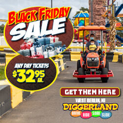 Diggerland Arcade in Camden County NJ