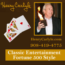 Henry Carlyle Magician in New Jersey