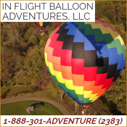 In Flight Balloon Adventures Top Attractions in Hunterdon County NJ