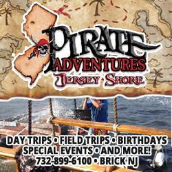 Jersey Shore Pirates Kids Party Places NJ