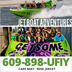 East Coast Jet Boat Fun things to do with Kids in NJ