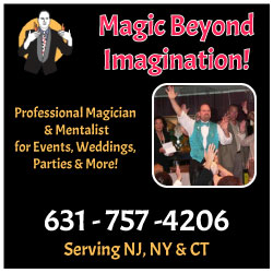 Robert McEntee Magic Magicians in New Jersey