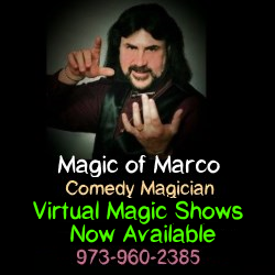 Magic of Marco Adult Party Services in NJ