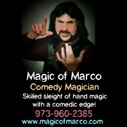 Magic of Marco Wedding Entertainers in NJ