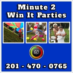 Minute 2 Win It Childrens Party Places NJ