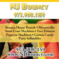 NJ Bouncy Toddler Parties in New Jersey