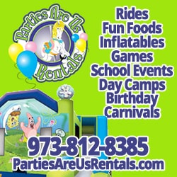 Parties Are Us Rentals in New Jersey