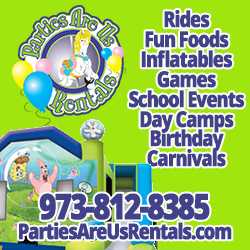 Parties Are Us Inflatable Rentals in NJ