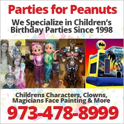 Parties for Peanuts Kids Party Guide NJ