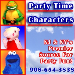 Party Time Characters Costume Characters in NJ