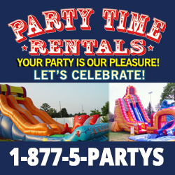 Party Time Rentals Inflatable Water Slides NJ
