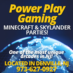 Power Play gaming Rainy Day Activities in NJ