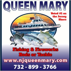 Queen Mary Fishing Party Boats in NJ