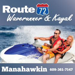 Route 72 Waverunner Jet Skiing in NJ