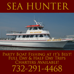 Sea Hunter Charter Boat Rentals NJ