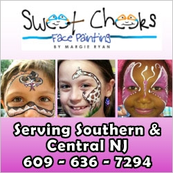 Sweet Cheeks Face Painting in NJ
