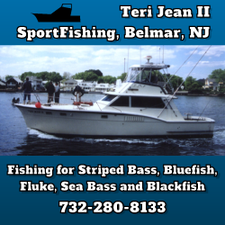 Teri Jean II Fishing Charter Boats in NJ