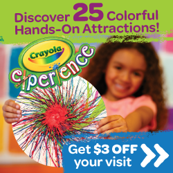 Crayola Experience Fun with Kids in Easton PA