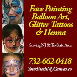 Your Face is my Canvas Face Painters in NJ